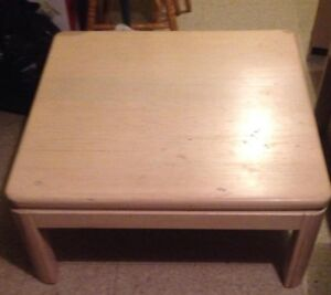 for sale coffee table and 1 end table