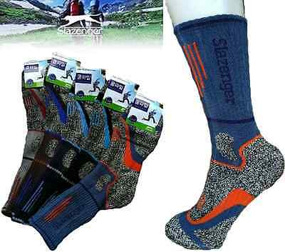 6pairs Mens Slazenger Long Coolmax Socks Hiking, Climbing, Outdoor Sports file