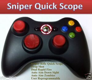 MW3-XBOX-360-RAPID-FIRE-MODDED-CONTROLLER-SNIPER-QUICK-SCOPE-COD-DROP-SHOT-RED