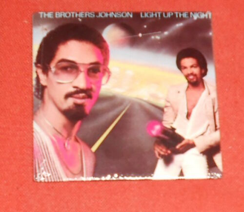 The Brothers Johnson Light Up the Night Chu-Bops Gum Vintage 3x3 Sealed #10