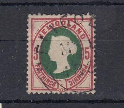 Heligoland QV 1875 5 pf VFU CDS JK5334
