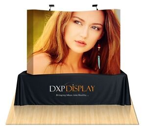 Trade Show Table Top Displays Booth With Carrying Case