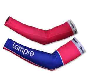 1PAIR LAMPRE Block Cooling Arm Sleeves Cover Sun protection cycling CUFF outdoor
