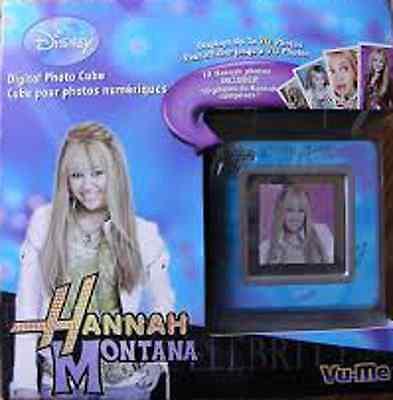 Disney Hannah Montana Digital Photo Cube Brand New