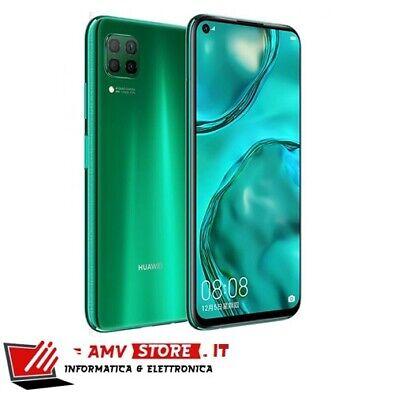 """Huawei P40 Lite 6.4"""" 128GB 6GB Crush Green Verde DS No Google Eu Nuovo Garanzia"""