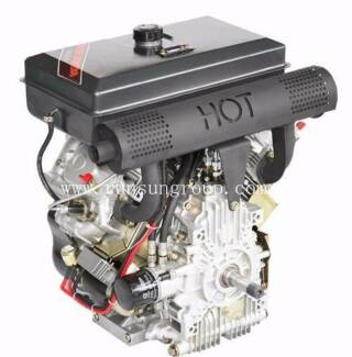 RUNSUN 20.0 HP AIR COOLED V TWIN DIESEL ENGINE GO KART Hastings Mornington Peninsula Preview
