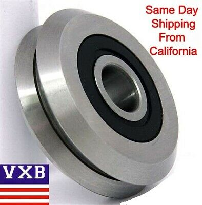 Rm2-2rs 38 V Guide Way Cnc Rubber Sealed V W Groove Ball Bearings Vgroove 375