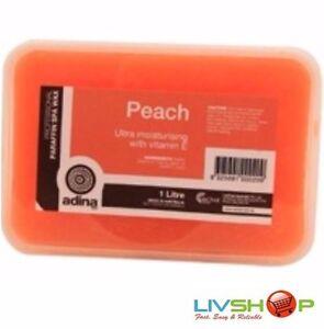 Adina Parrafin Wax Peach 1kg