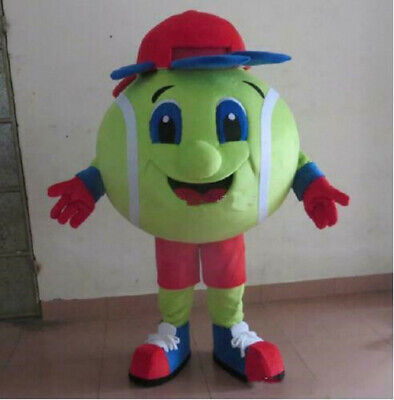 Halloween Tennis ball Mascot Costume Cosplay Party Dress Clothing Carnival