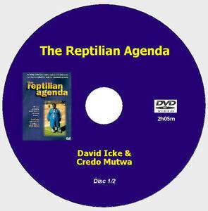 REPTILIAN AGENDA - David Icke [2 DVDs - 5h+]