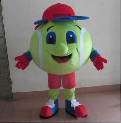 Tennis Ball Mascot Costume Suits NEW Dress Outfits Advertising