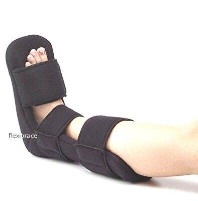 Soft Night Splint Boot Brace Support Tendinitis Plantar Fasciitis Heel Spurs