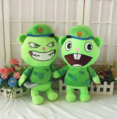 Happy Tree Friends HTF Flippy Fliqpy Stuffed Doll Anime Plush Toy Gift - Baby Happy Tree Friends