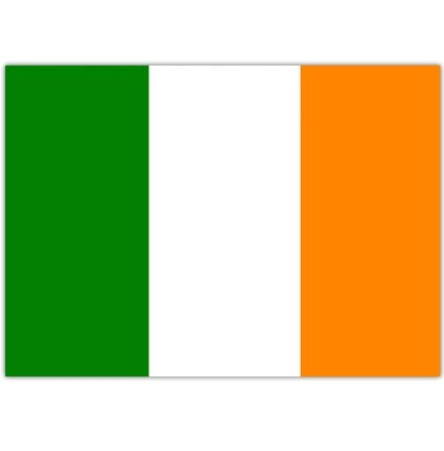 Irish National Flag 5 Feet x 3 Feet - St Patricks Day Football or Rugby
