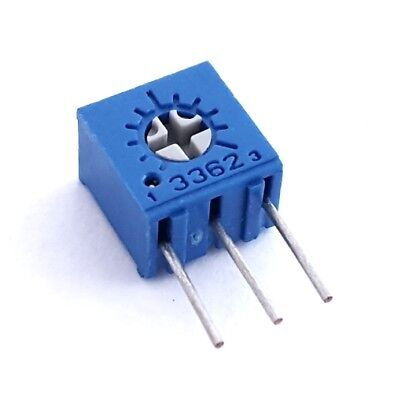 20 Ohm Trimmerpot Potentiometer Variable Resistor 3362m-1-200lf Bourns 20 Pcs