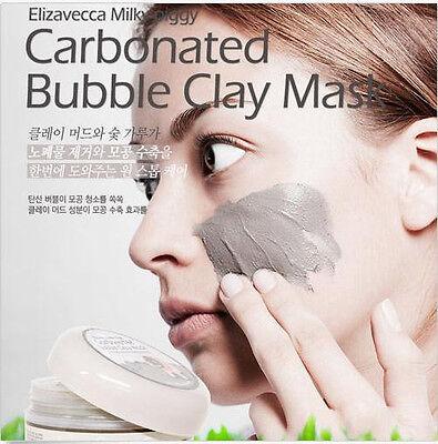 Elizavecca Milky Piggy Carbonated Bubble Clay Mask Face Pore Blackhead Cleanse