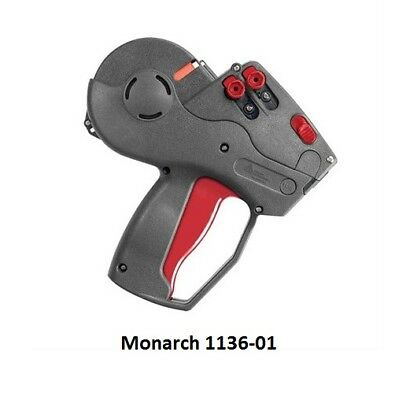 New Monarch 1136-01 Label Gun 2-line Pricing Gun - Authorized Monarch Dealer