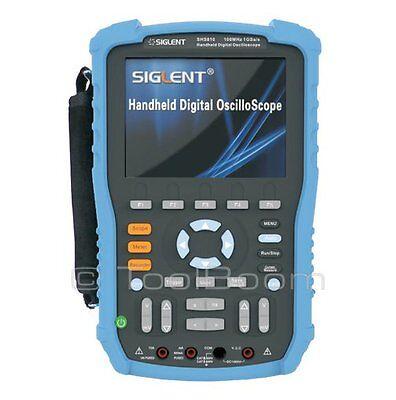 Siglent Shs810 Handheld Digital Oscilloscope 2-channel 100mhz 1gsas 2m 5.6 Lcd