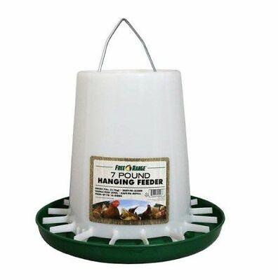 Free Range 7 Lb. Hanging Plastic Chicken Feeder 09-4308-9912