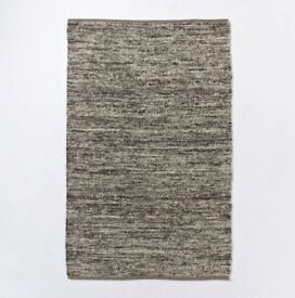 West Elm wool area rug
