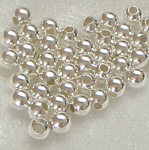 50-x-4mm-Sterling-Silver-Round-Seamless-Spacer-Beads