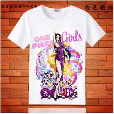 One Piece Boa Hancock Cosplay Anime Manga T-Shirt shirt Kostüme - Hancock Kostüm
