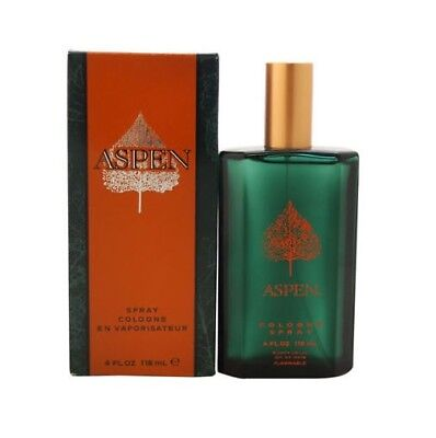 Aspen By Coty Men 4 0 4 Oz 118 Ml Cologne Spray New In Box