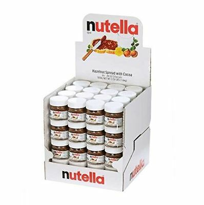 - NUTELLA HAZELNUT SPREAD WITH COCOA GLASS JAR .88 OZ - 64 PER CASE BY FERRERO
