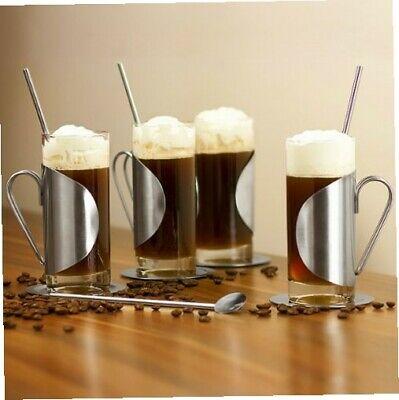 Kompletter Irish Coffee-Glas-Geschenkset mit einem Set von 4 Gläsern,... Irish Coffee Glas Set