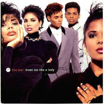 "five star - treat me like a lady / dont stop - aus 7"" ►► Mint-Sammlung 1990"