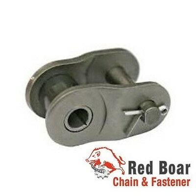 80 Offset Half Link Qty 10 For 80-1r Roller Chain Red Boar Chain