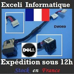 Conector-Dc-entrada-de-conexion-Jack-Alambre-De-Cable-Dell-Inspiron-0DXR7Y