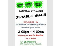 JUMBLE SALE 24TH MARCH 2-4PM AT ST.ANDREWS CHURCH IN BATH