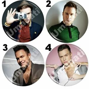 OLLY-MURS-lipstick-handbag-purse-MIRROR-58mm-birthday-NEW
