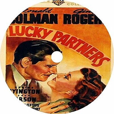 Lucky Partners _  Ronald Colman Ginger Rogers Jack Carson V rare 1940
