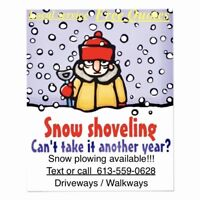 Snow removal and walkway services