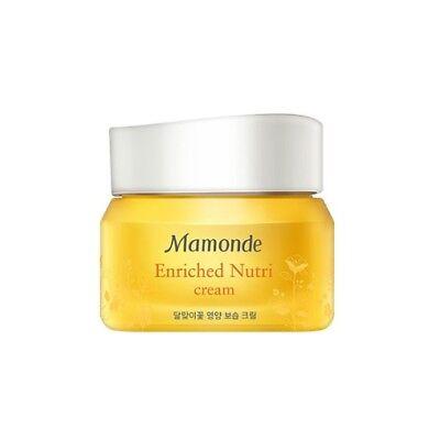 Mamonde Enriched Nutri Cream 50ml Moisturizer Smoothing Skin Amore K beauty