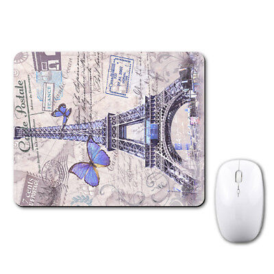 Paris Eiffel Tower Lovely Mouse Mat Pad Notebook Computer Laptop Mice Notebook Mouse Pad Mat