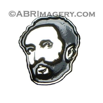 Hat Pin 7 - Haile Selassie - Limited Edition Ras Tafari Conquering Lion Judah