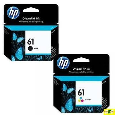 HP 61 Genuine Black & Color ink HP61 Combo Ink Cartridges New