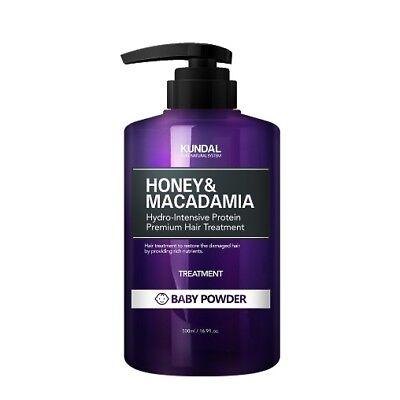 KUNDAL Honey & Macadamia Hair Treatment Baby Powder 500ml Moisturizer K beauty