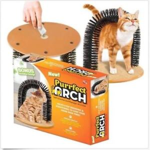 Cat Arch - Cats Self Grooming Scratch Arch Toy