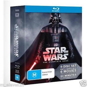 STAR WARS The Complete SAGA : 6 Movies :  PREQUEL - TRILOGY : NEW Blu-Ray