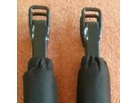 1 (pair) Padded Kayak/Canoe Support Post bolts to roof rack.