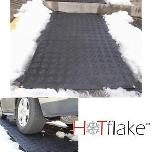 NEW ELECTRIC OUTDOOR HEATED MAT HF 80-150 214140469 HOTFLAKE SNOW MELTING FOR STAIRS DOORWAY DRIVEWAY WALKWAY ENTRYWA...