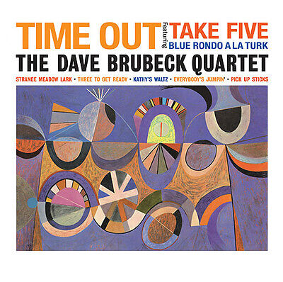 Dave Brubeck Quartet - Time Out - 180gram Vinyl LP *NEW & SEALED*