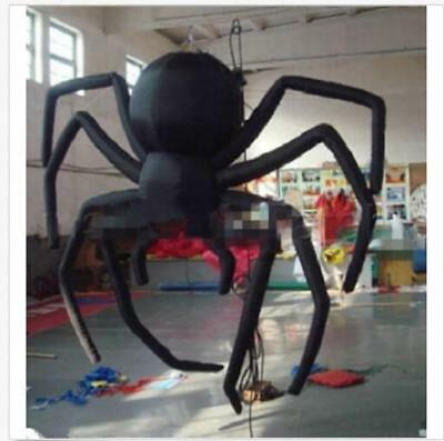 Giant Party Decoration Halloween Inflatable Hanging Spider for Sale 3m/10ft - Giant Inflatable Spider Halloween