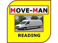 07456 504 918 (MAN and VAN) House/Flat Moves, Office Moves, Furniture and Single Items, READING