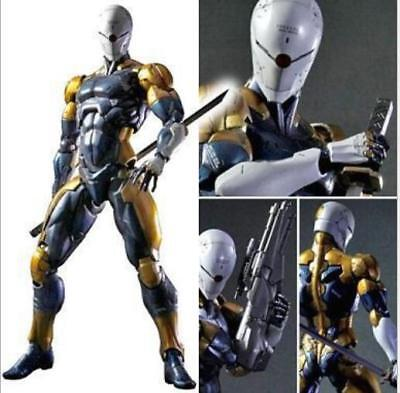 Play Arts Kai Metal Gear Rising:Revengeance GERY FOX Ninja Action Figure Mit Box