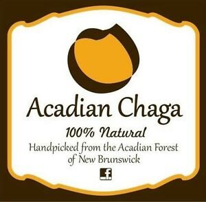 Acadian Chaga 100% Natural Tea